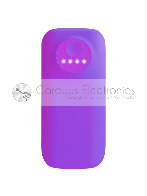 Power Bank 5600 Mah Violette